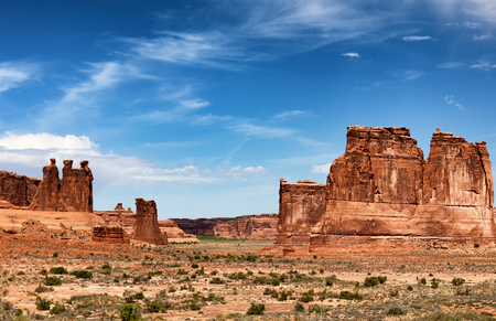 Monument Valley Navajo Tribal Park in United States Imagens