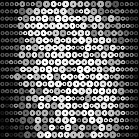 Shiny glitter party background Stock Vector - 18711046