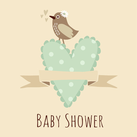 birth announcement: Cute baby shower invitation