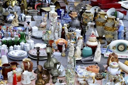 sunday market: treasures at a flea market
