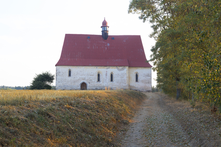 country church: Small country church in village Dobronice, central Europe