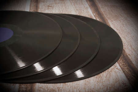 hi fi: Long playing record, vintage background