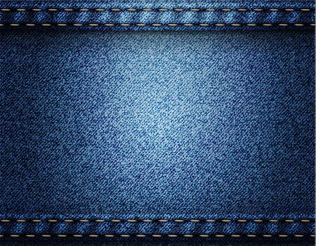 Background of Denim texture  Vector eps10