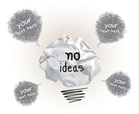 Origami Geen Ideeën Ontwerp Stock Illustratie