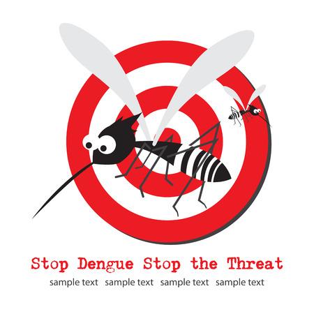 dengue: Arresto Dengue Vettoriali