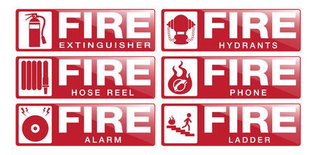 Fier Equipment Sign
