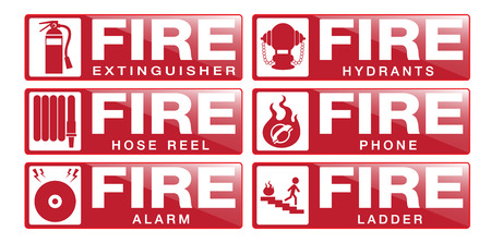 fire extinguisher symbol: Fier Equipment Sign