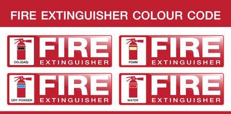 fire extinguisher:  Fire Extinguisher Colour