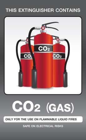 fire extinguisher symbol: Fire Extinguisher Colour Safety Signs