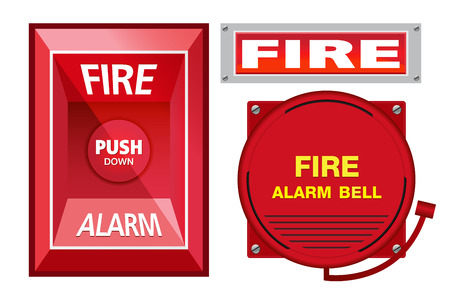 fire extinguisher symbol: Fire Alarm Safety