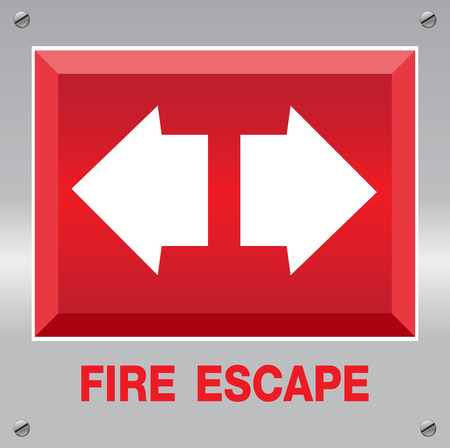 escape:  Fire Escape Sign