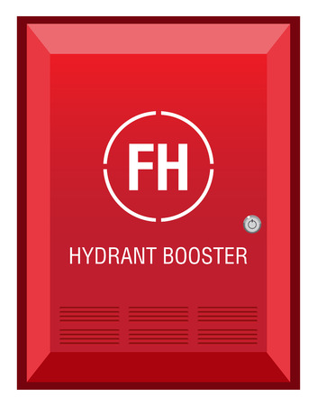 booster: Fire  Hydrant Booster Sign