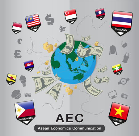 aec: AEC Business and Finance Illustration