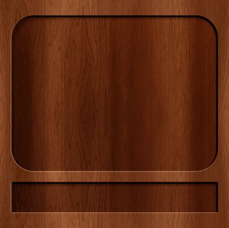 beautiful wood carving texture