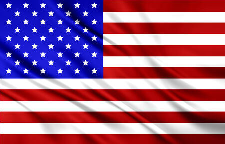 The National Flag of the USA photo