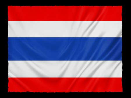 flag background: thailand flag background Stock Photo