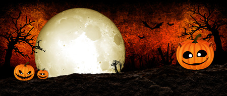 Halloween Festival Background Stock Photo