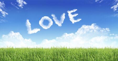 greensward: love nature  background image Stock Photo