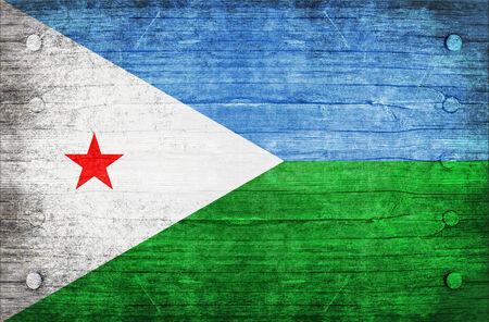 djibouti: The National Flag of the Djibouti