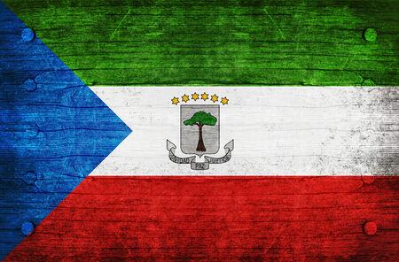equatorial guinea: The National Flag of the Equatorial Guinea