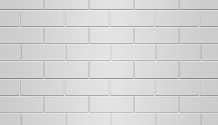 fortification: Brick Wall White Background