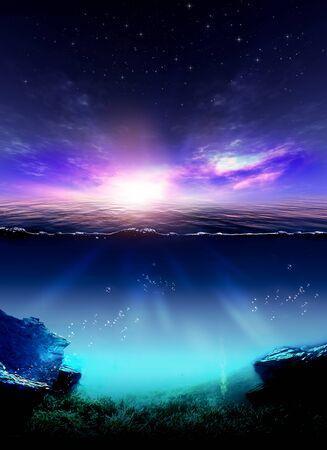het wonder van de hemel Stockfoto