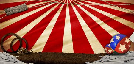 illustraton: circus illustraton abstract backgroundi