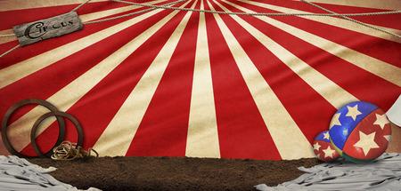 circus illustration abstract background Фото со стока