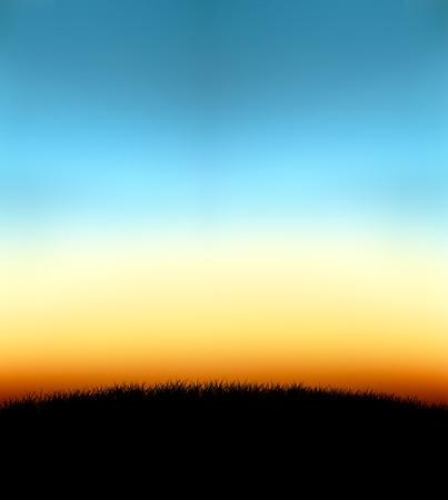 backkground: nature gradient background