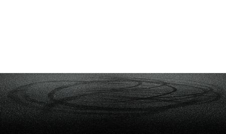 drifting: drift on the road Stock Photo