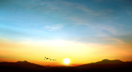 sky photo beautiful sunset Фото со стока