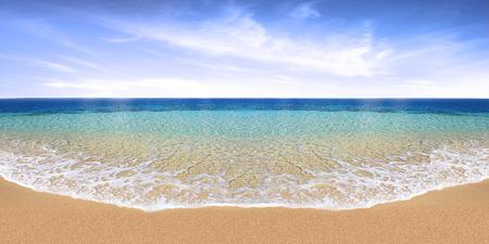 morze pejzaż w tle