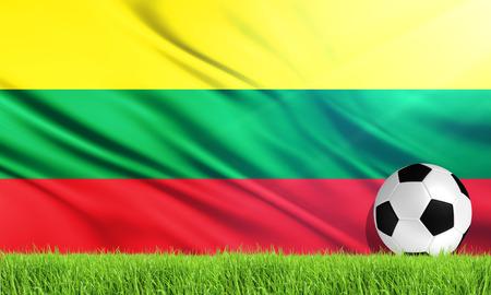 lithuania: The National Flag of Lithuania