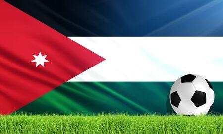 jordan: The National Flag of Jordan