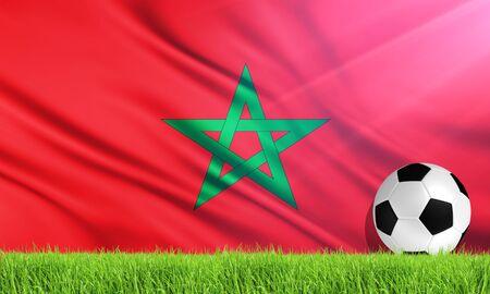 morocco: The National Flag of Morocco