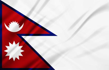 educaton: The National Flag illustration background
