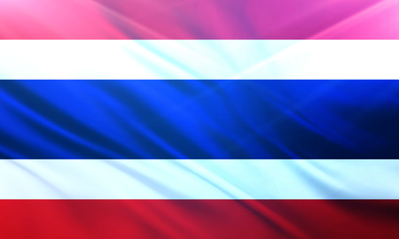 populace: The National Flag of Thailand