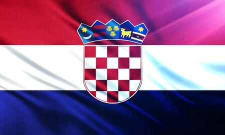 educaton: The National Flag of  Croatia