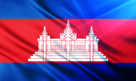 populace: The National Flag of  Cambodia