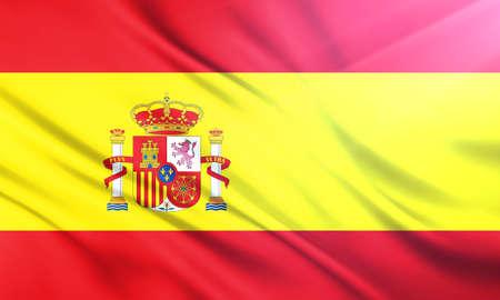 educaton: The National Flag of Spain