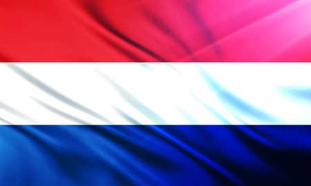 educaton: The National Flag of Netherlands Holland