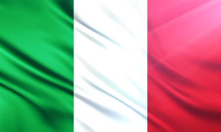 educaton: The National Flag of Italy