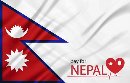 nepal: The National Flag of nepal