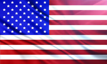 populace: The National Flag of United States of America