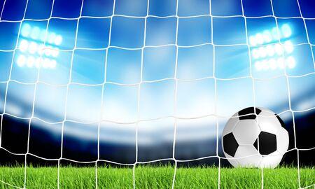 01: Soccer illustration 01
