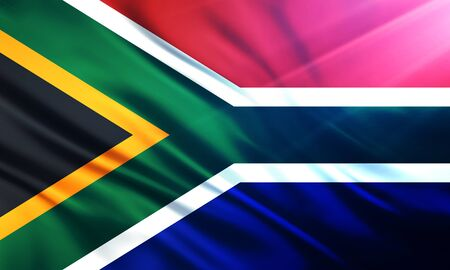 educaton: The National Flag of South Africa
