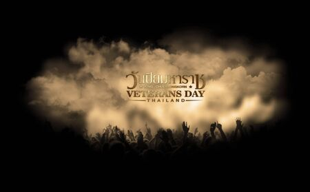 glorify: veterans day of thailand Stock Photo