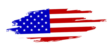 flag of united state of america Stock Photo