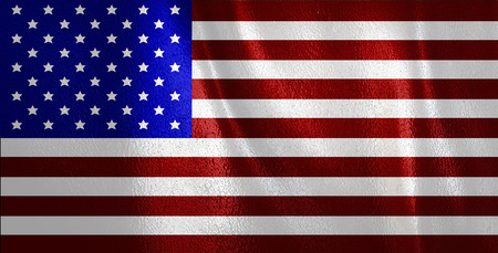 glorify: flag of united state of america Stock Photo