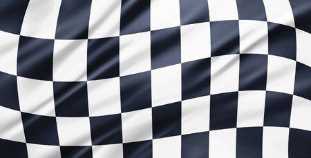 motosport: racing flag background
